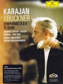 Bruckner, Anton - Symphonien 8,9/Te Deum [2 DVDs]