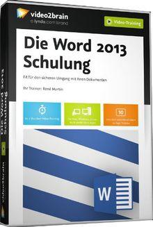 Die Word 2013 Schulung