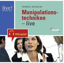 Manipulationstechniken - live. CD