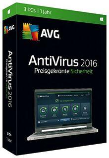 S.A.D AVG Anti Virus 2016 – 3 PC