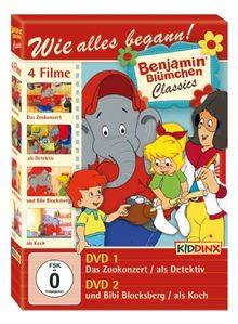 Benjamin Blümchen Classics - Das Zookonzert/Als Detektiv/Und Bibi Blocksberg/Als Koch [2 DVDs]