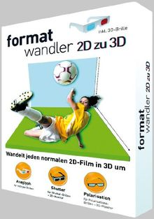 Formatwandler 2D in 3D