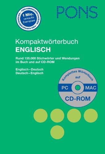 Pons kompaktw rterbuch englisch rund stichw rter for Von deutsch auf englisch