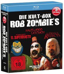 Die Rob Zombie Kult Box - Boxset mit 3 Rob Zombie Knallern (The Devil's Rejects, Haus der 1000 Leichen, El Superbeasto) [3 Blu-rays]