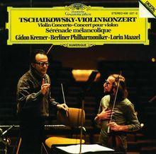 Violinkonzert / Sérénade mélancolique