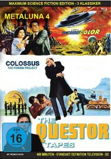 Maximum Science Fiction Edition 3 Klassiker - Metaluna - Colossus - Questor [Blu-ray]