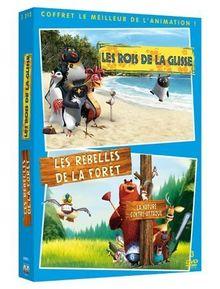 Coffret sony pictures animation : rois de la glisse ; rebelles de la foret [FR IMPORT]