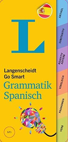 Langenscheidt Go Smart Grammatik Spanisch - Fächer