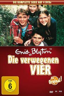 Enid Blyton - Die verwegenen Vier, Die komplette Serie [4 DVDs]
