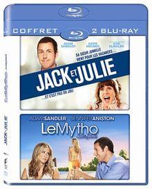 Coffret adam sandler : jack et julie ; le mytho [Blu-ray]