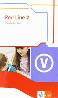 Red Line / Vokabellernheft 6. Schuljahr: Ausgabe 2014