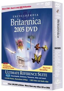 Encyclopaedia Britannica 2005 Reference Suite