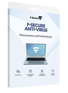 F-Secure Anti-Virus 2019 - 1 Jahr / 1 PC für PC