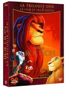 Coffret trilogie le roi lion : le roi lion 1, 2 et 3