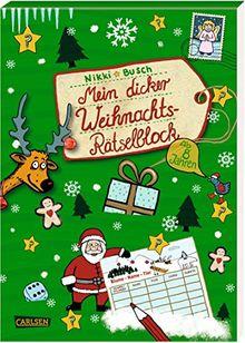 Mein dicker Weihnachts-Rätselblock