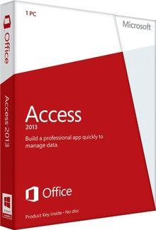 Microsoft Access 2013 - 1PC (Product Key ohne Datenträger)