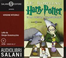 Harry Potter e la pietra filosofale. Audiolibro. 8 CD Audio
