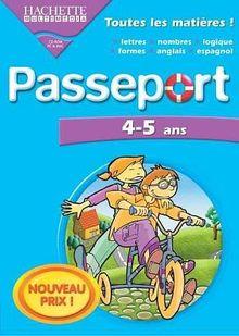 Passeport 4/5 ans 2005