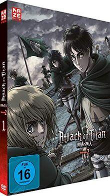 Attack on Titan - Staffel 2 - Vol.1 - [DVD]
