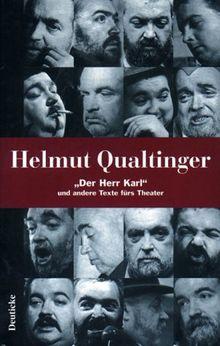 Werkausgabe, 5 Bde., Bd.1, 'Der Herr Karl' und andere Texte fürs Theater
