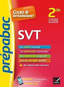 Prepabac Cours Et Entrainement: 2de - Svt