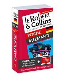 Le Robert & Collins poche allemand : Français-allemand ; Allemand-français