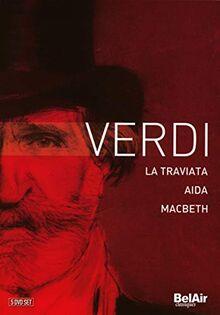 Verdi - La Traviata/Aida/Macbeth [4 DVDs]