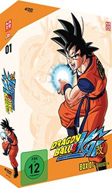 Dragonball Z Kai - Box 1 (Episoden 1-16) [4 DVDs]