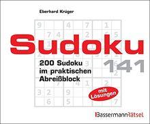 Sudoku Block 141: 200 Sudoku im praktischen Abreißblock