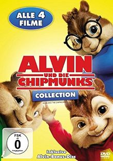 Alvin und die Chipmunks Collection [5 DVDs]
