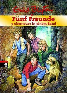 Fünf Freunde - 3 Abenteuer in einem Band: Sammelband 8: Fünf Freunde und der rätselhafte Friedhof / Fünf Freunde und der gefährliche Wassermann / Fünf ... Ruine (Doppel- und Sammelbände, Band 8)