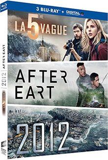 Coffret : la cinquième vague ; after earth ; 2012 [Blu-ray]