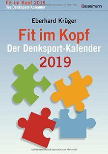 Fit im Kopf - der Denksport-Kalender 2019