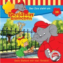 Benjamin Blümchen - Folge 38: Der Zoo Zieht um