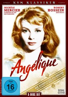 Angelique - Die Komplette Filmreihe [5 Disc Set]