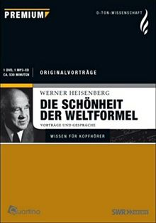 Werner Heisenberg - Die Schönheit der Weltformel: Vorträge und Gespräche (inkl. MP3-CD) [DVD]
