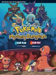 Pokemon Mystery Dungeon - Team Blau (NDS) & Team Rot (GBA) Lösungsbuch