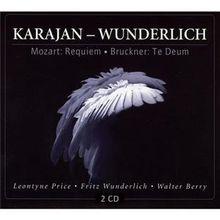 Karajan - Wunderlich / Mozart: Requiem / Bruckner: Te Deum