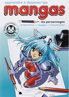Apprendre à dessiner les mangas : Volume 1, Les personnages