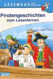 Lesemaus zum Lesenlernen Sammelbände, Band 4: Piratengeschichten zum Lesenlernen