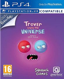 Trover rettet das Universum PS4-Spiel