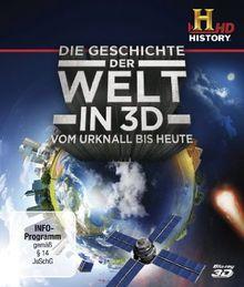 Die Geschichte der Welt - Vom Urknall bis heute (OmU) [3D Blu-ray]