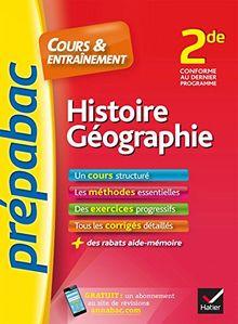 Prepabac Cours Et Entrainement: 2de - Histoire Geographie