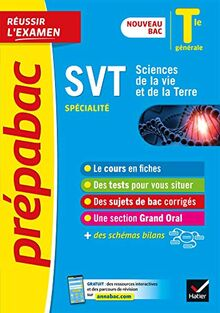 SVT Tle générale (spécialité) - Prépabac Réussir l'examen: nouveau programme, nouveau bac (2020-2021) (Prépabac (19))