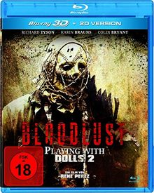 Bloodlust - Playing with Dolls 2 (inkl. 2D-Version) [3D Blu-ray]