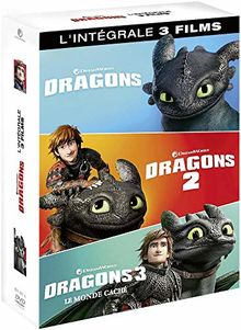 Coffret dragons 1 à 3 : dragons ; dragons 2 ; le monde caché [FR Import]