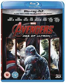 Avengers: Age of Ultron (3D) [Blu-ray] [UK Import]