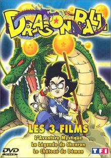 Dragon Ball - Vol.4 : Les Films, l'intégrale : La Légende de Shenron / L'Aventure mystique / Le Château du démon