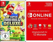 New Super Mario Bros. U Deluxe [Nintendo Switch] + Switch Online 12 Monate [Download Code]