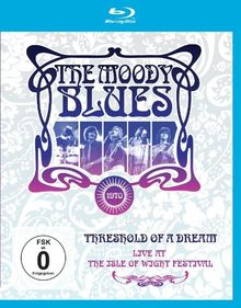 The Moody Blues - Threshold of a Dream/Live at the Isle of Wight Festival [Blu-ray]